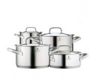 福腾堡WMF全钢 4件 五星套锅 Cookware Set Gourmet Plus 4-Pc (包邮包税)0720046030