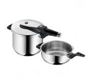 福腾堡两件套 6.5升+3升 计时高压锅  WMF Perfect Ultra Pressure Cooker Set 2 Pieces(包邮包税)