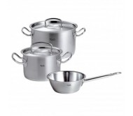 菲仕乐雅阁三件套 Fissler original-profi collection Topf-Set 3-tlg (包邮包税)